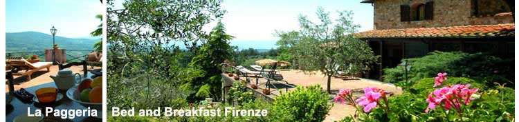 Florence Bed and Breakfast La Paggeria
